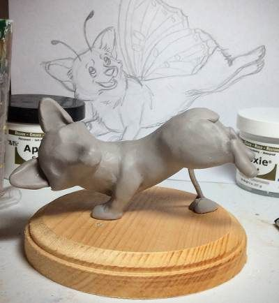 Butterfly Corgi - image 5 - student project
