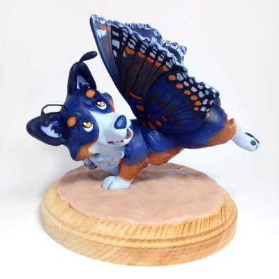 Butterfly Corgi - image 18 - student project