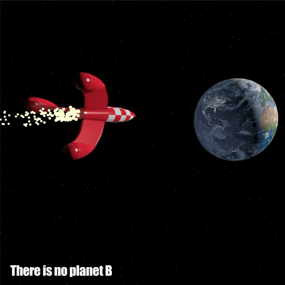 Tintin Rocket - Save Earth - image 1 - student project