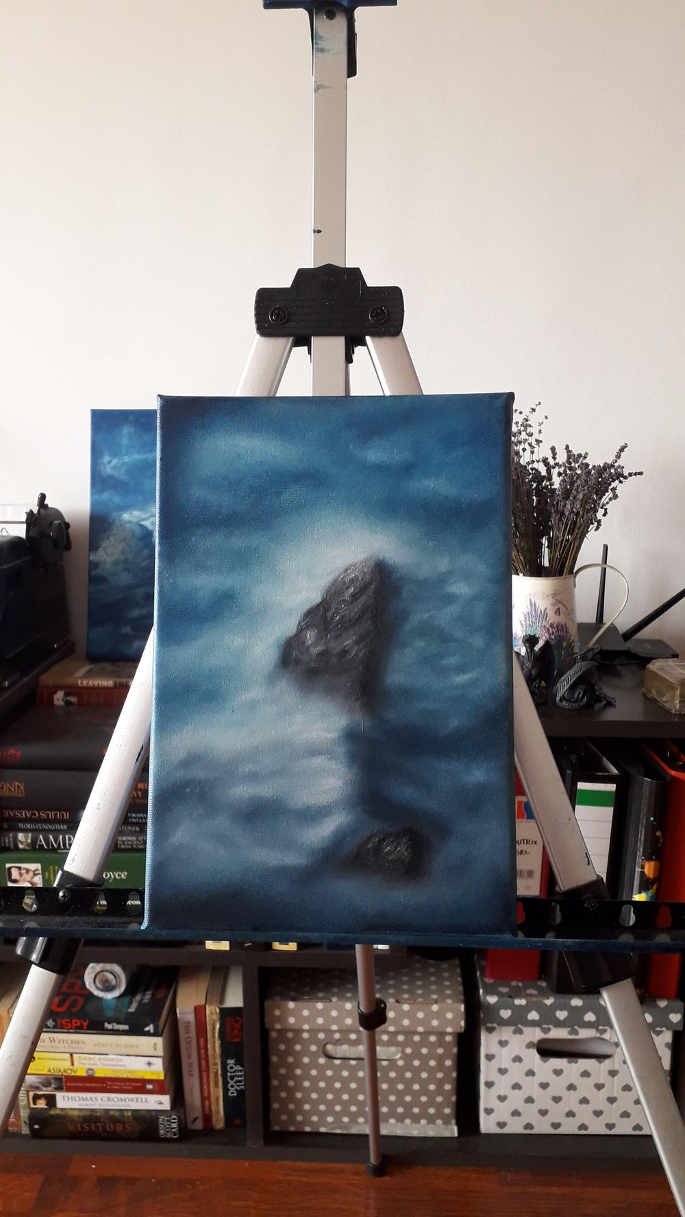 Misty Mountain Peak - image 1 - student project