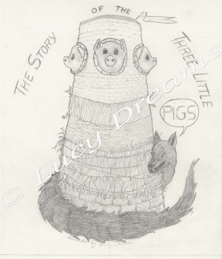 3 little pigs by a french illustrator - image 4 - student project
