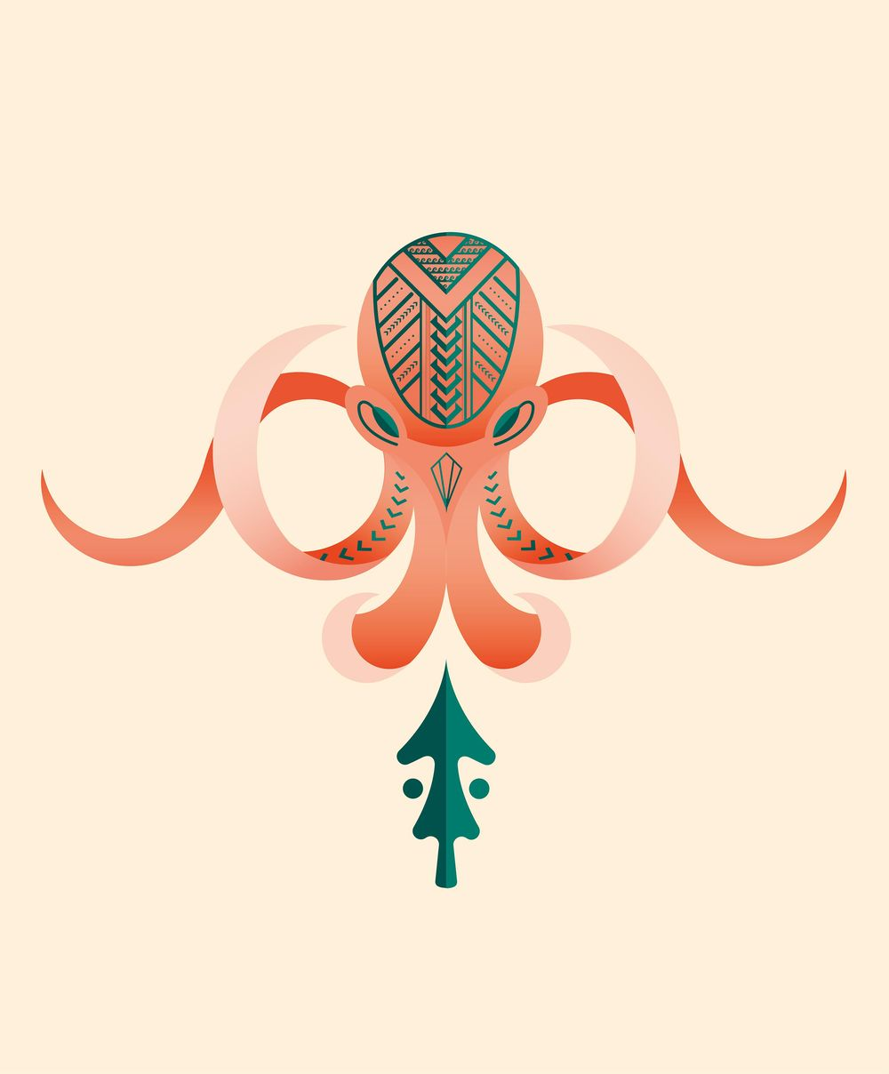 Atlantean Octopus - image 1 - student project