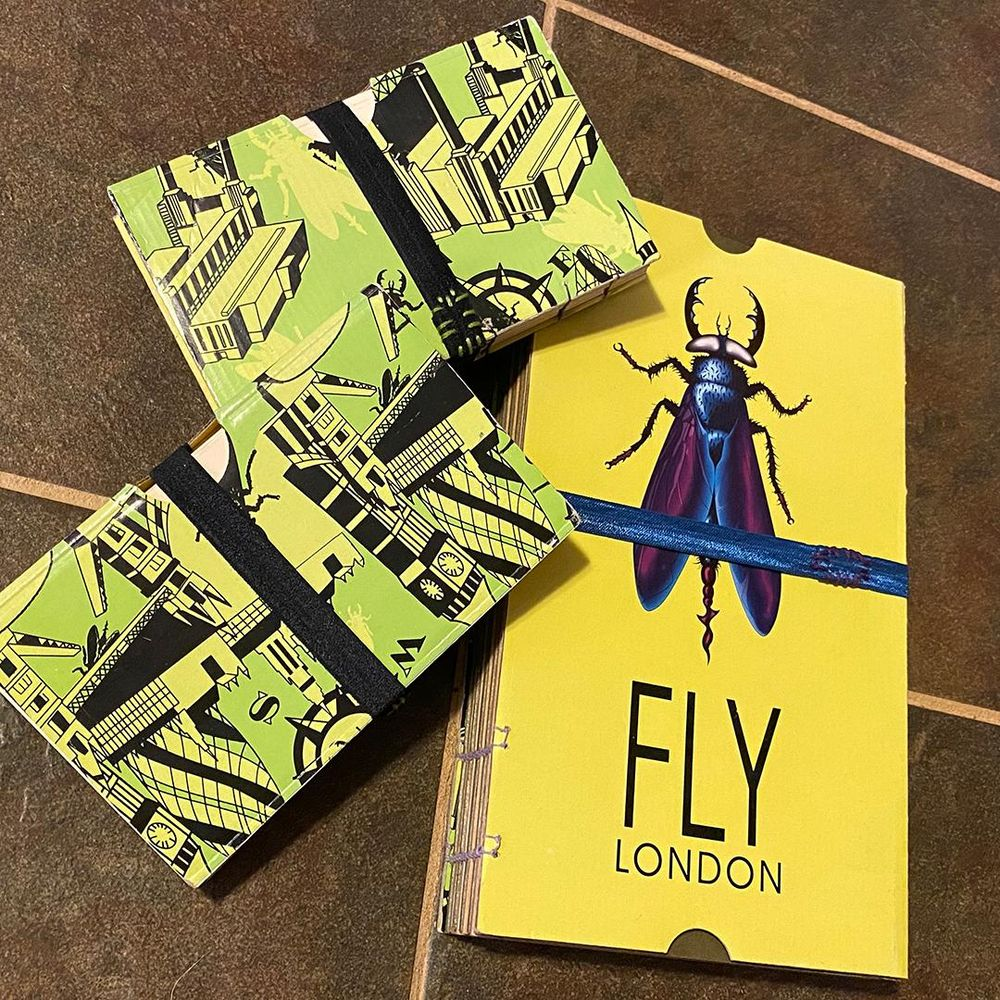 FLY LONDON Shoe Box Sketchbooks - image 6 - student project