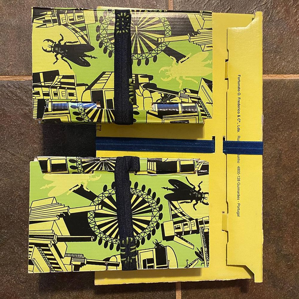 FLY LONDON Shoe Box Sketchbooks - image 8 - student project