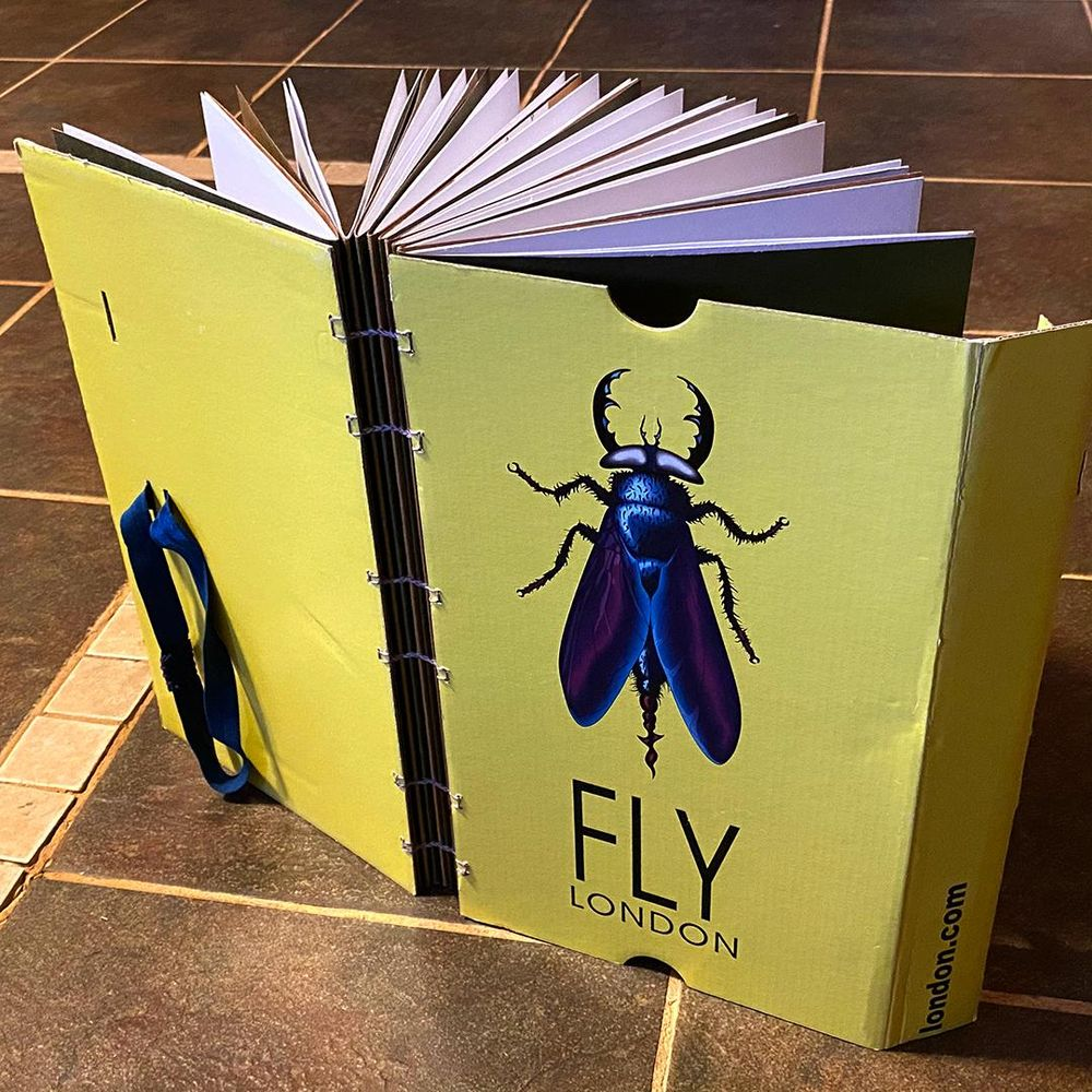 FLY LONDON Shoe Box Sketchbooks - image 1 - student project