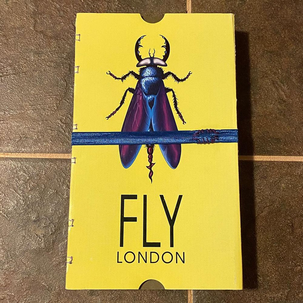 FLY LONDON Shoe Box Sketchbooks - image 5 - student project