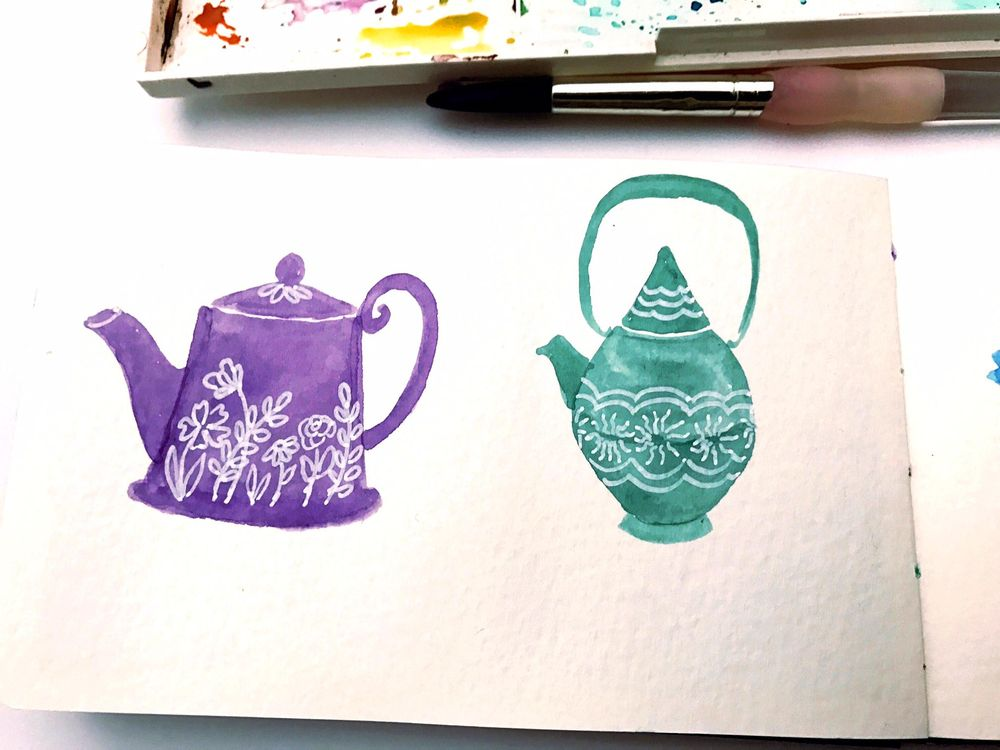 Tea Pots - image 1 - student project