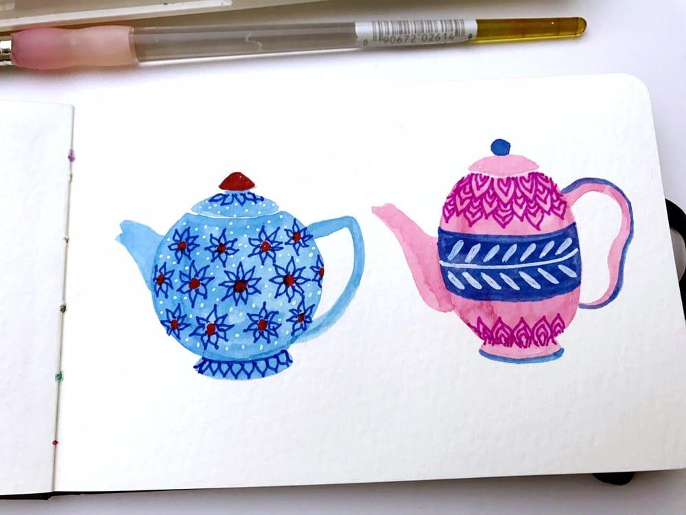 Tea Pots - image 2 - student project
