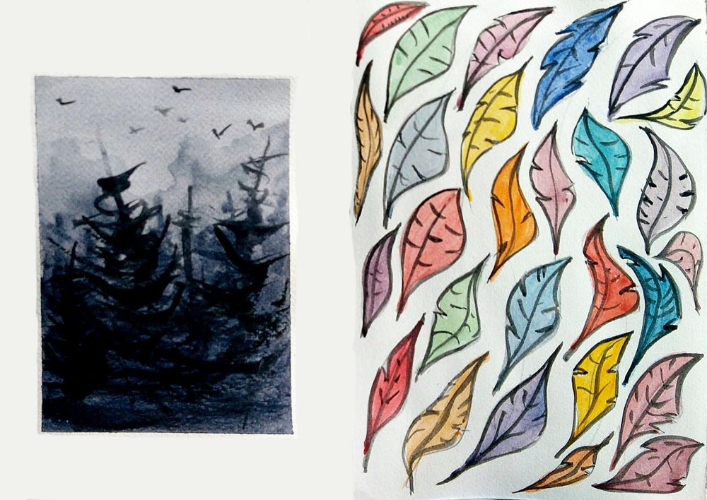Easy Watercolor Paintings - image 6 - student project