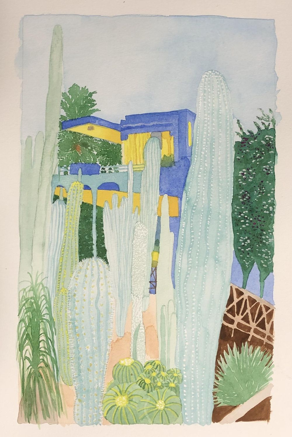Majorelle Garden - image 1 - student project