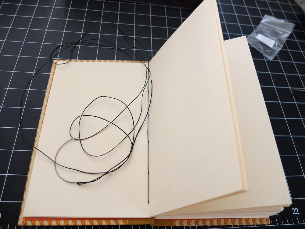 In love with the coptic stitch! - image 4 - student project