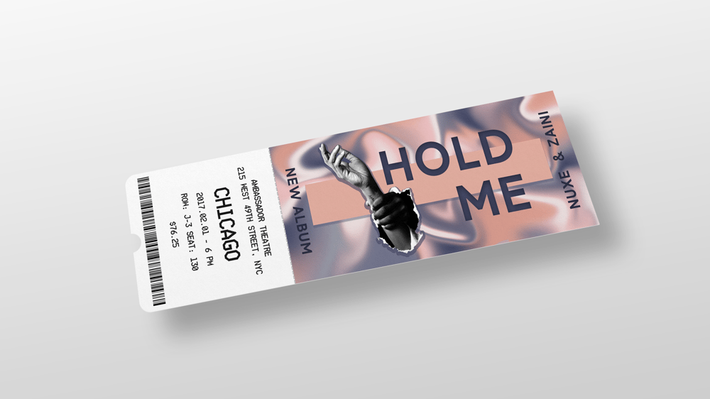 Liquid Animation - Album cover - image 1 - student project