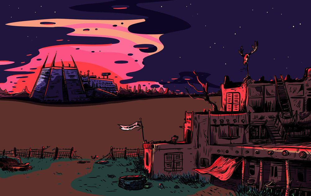 The quiet desert at sunset - image 4 - student project