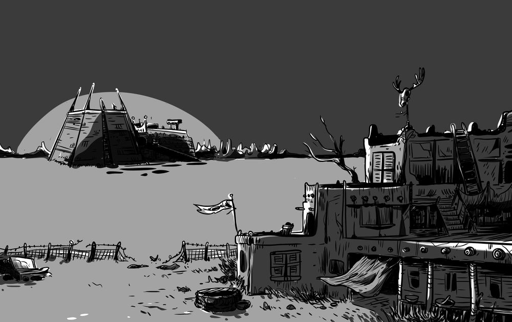 The quiet desert at sunset - image 3 - student project