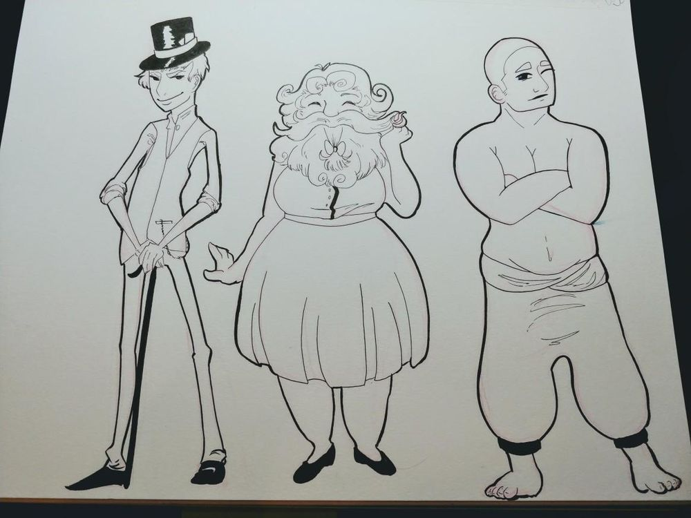 Rather Untalented Circus - image 1 - student project