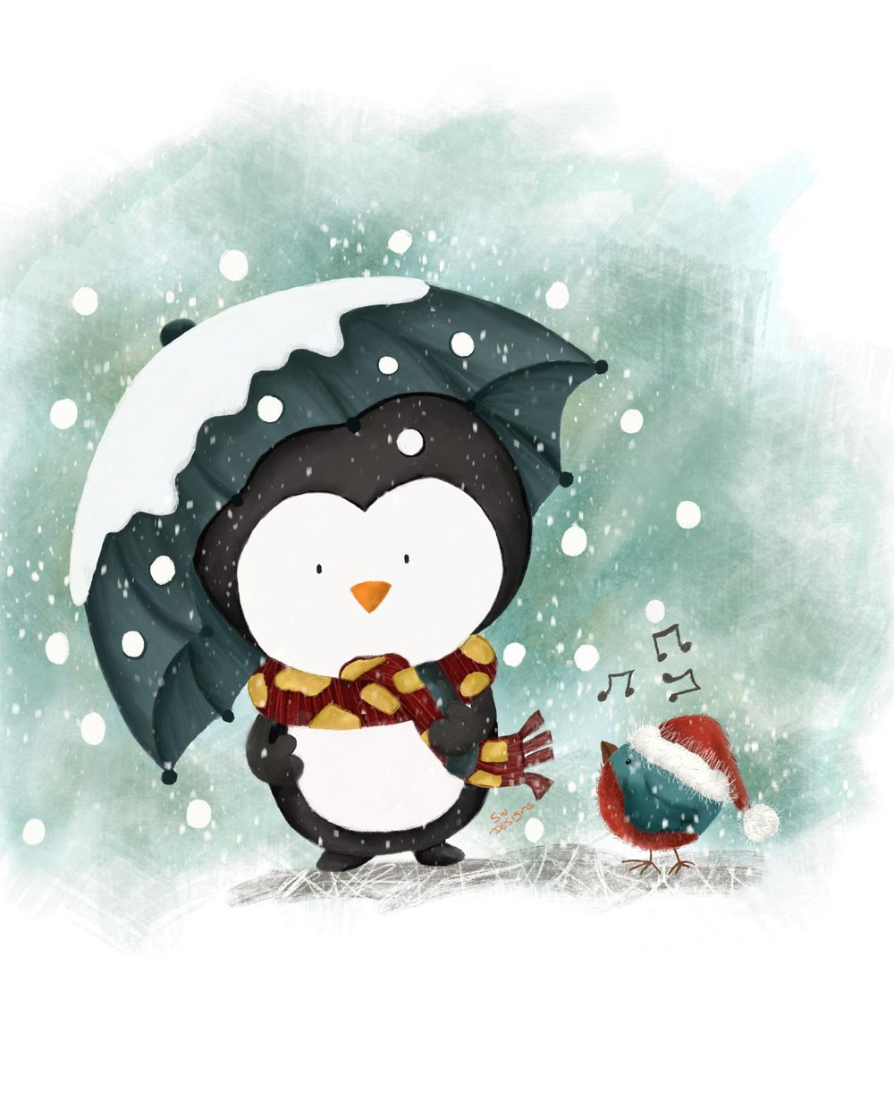 My Christmas Penguin - image 1 - student project