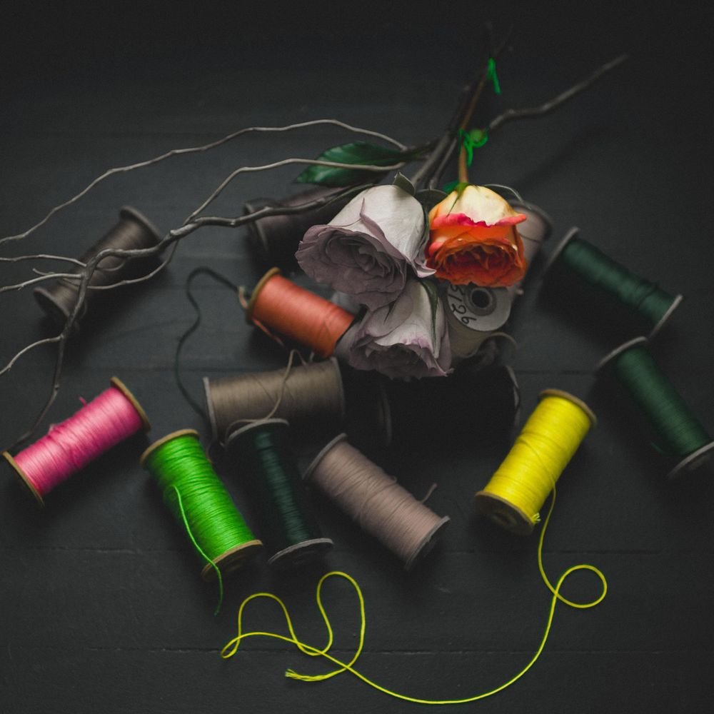 Umbrellas, cupcakes, and thread spools, oh my! - image 1 - student project