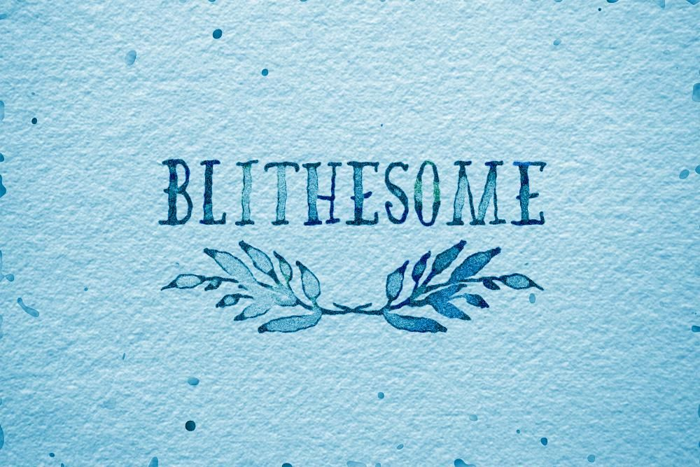 Blithesome - image 1 - student project