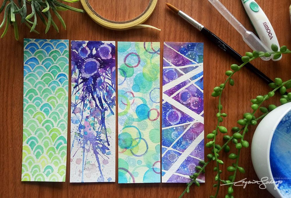 Abstract bookmarks - image 1 - student project