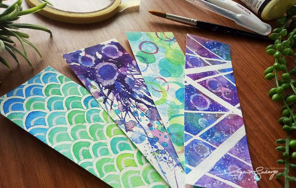 Abstract bookmarks - image 2 - student project