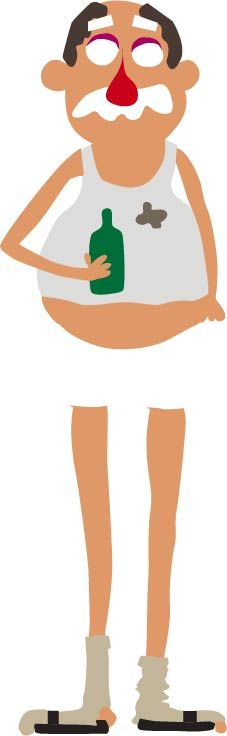 Beer Belly Guy  - image 3 - student project