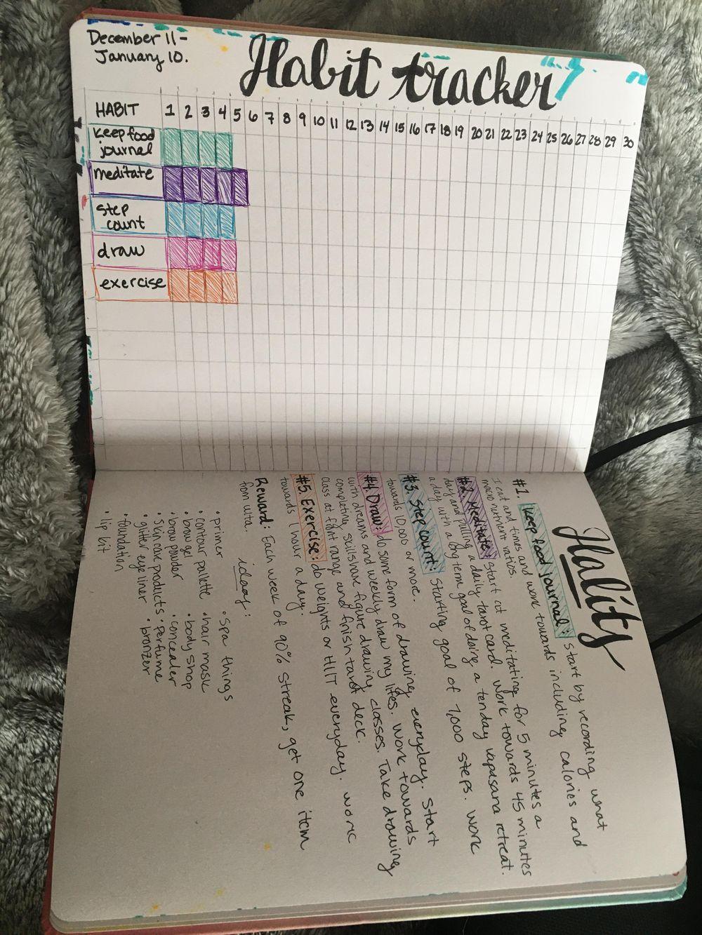 My Habit Tracker - image 1 - student project