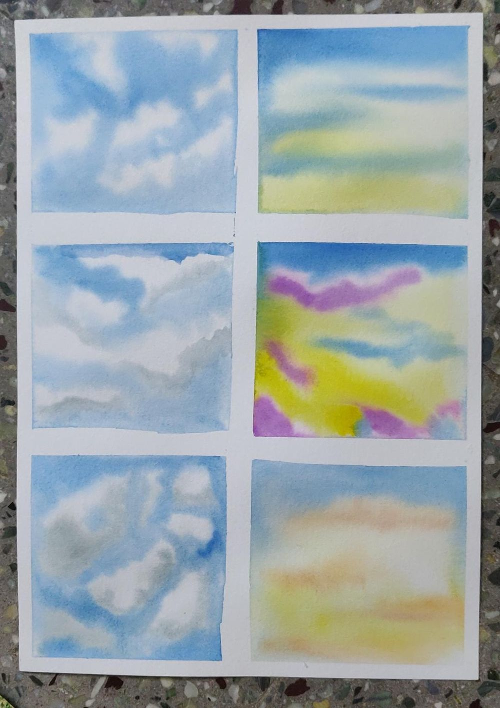 Different Types of Sky - image 1 - student project