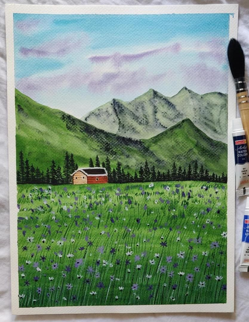 My beautiful floral meadow - image 1 - student project