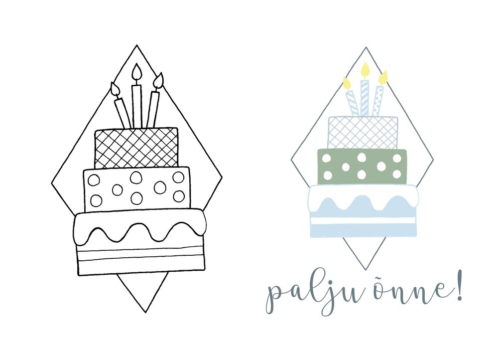 Birthday cake - image 2 - student project