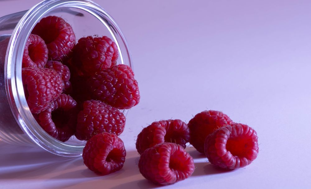 Raspberries and a Glass Bowl - image 3 - student project