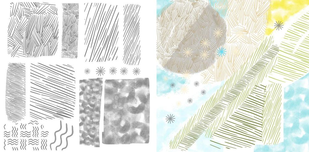 Patterns and Pattern Brushes - image 2 - student project