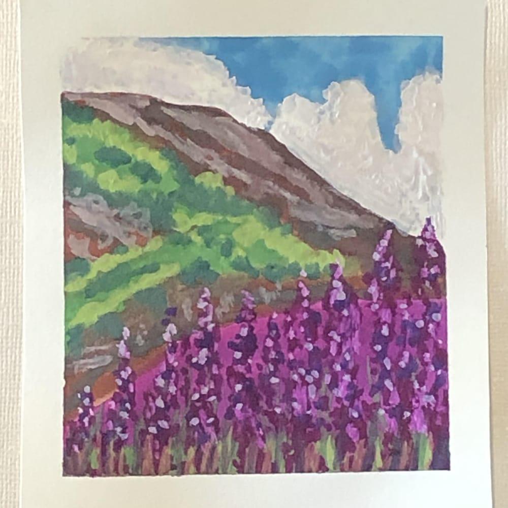 5 Mini Gouache Meadows - image 4 - student project