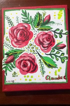 Three Roses - image 1 - student project