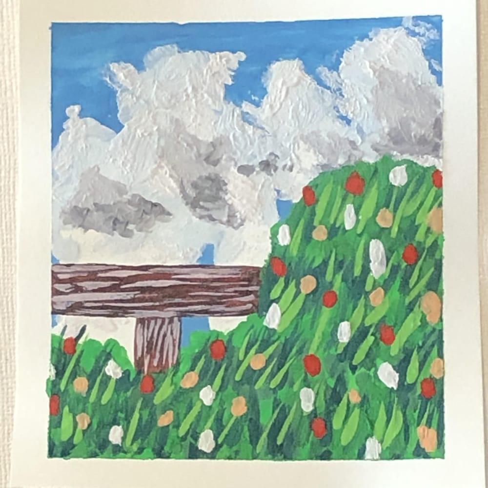 5 Mini Gouache Meadows - image 1 - student project