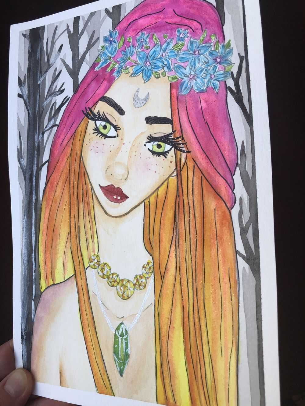 Wood Wife Fairy - image 2 - student project