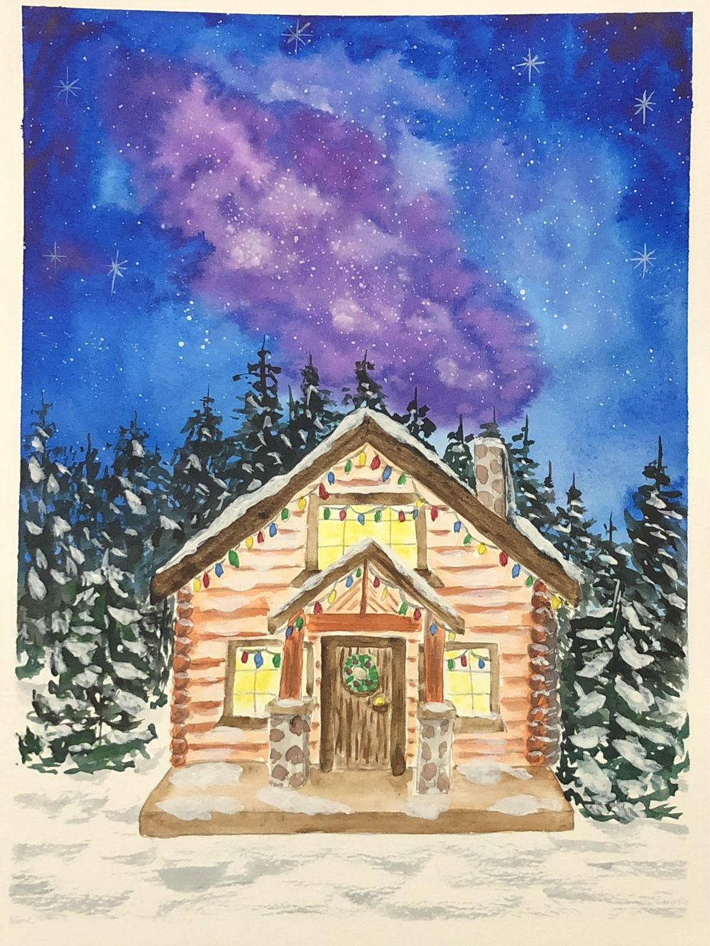 Christmas Cabin - image 1 - student project