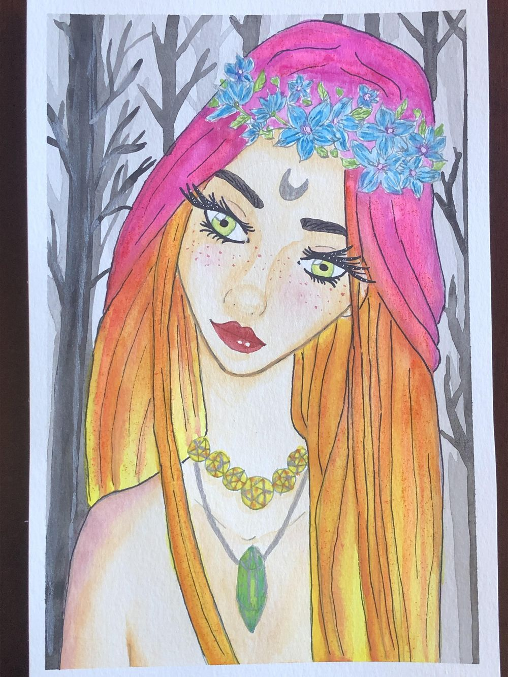 Wood Wife Fairy - image 1 - student project