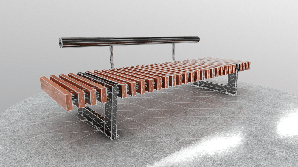 Bench - image 2 - student project