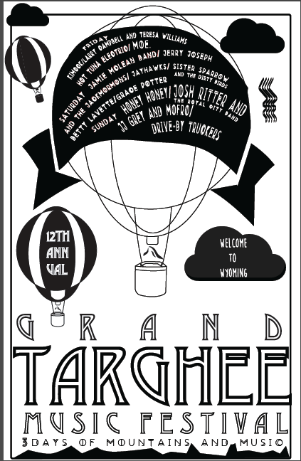 Festival GIG Poster submission - image 2 - student project