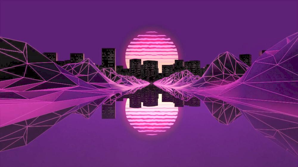 Retro City (loop) - image 1 - student project