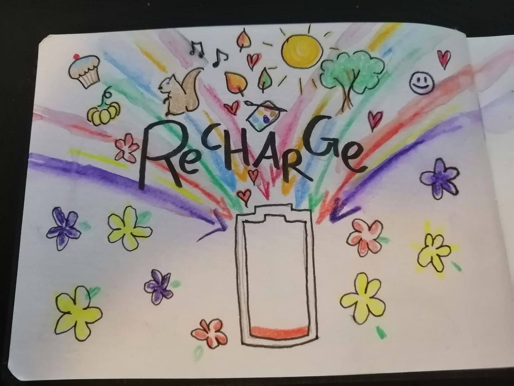 Judy's art for self care - image 3 - student project