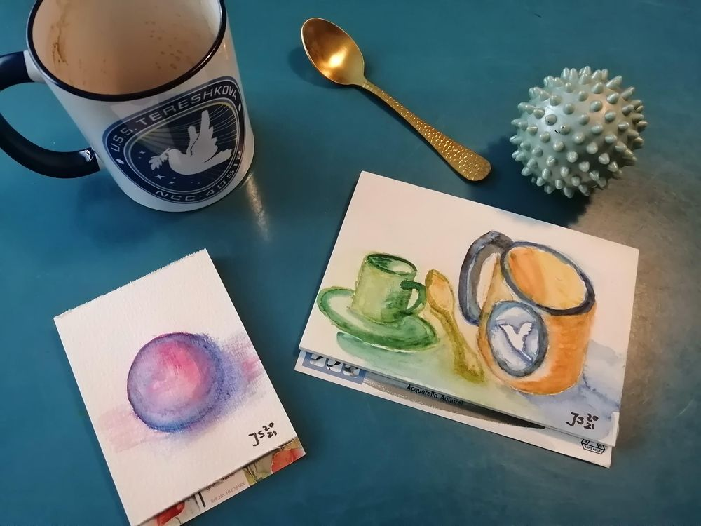 Painting with Watercolormarkers - image 1 - student project