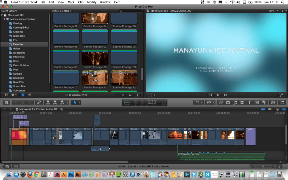 Manayunk Ice Festival Movie – Amelia C. - image 1 - student project