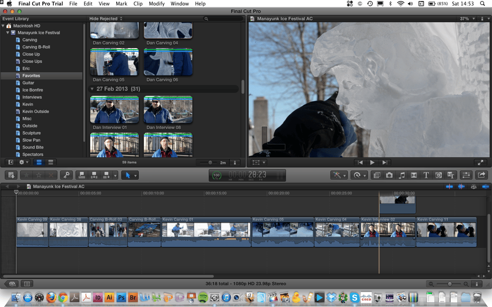Manayunk Ice Festival Movie – Amelia C. - image 2 - student project