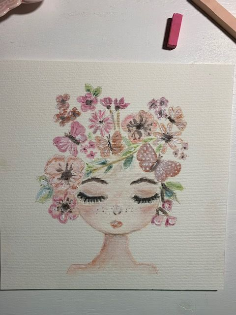 Flora &  Fauna girl - image 1 - student project