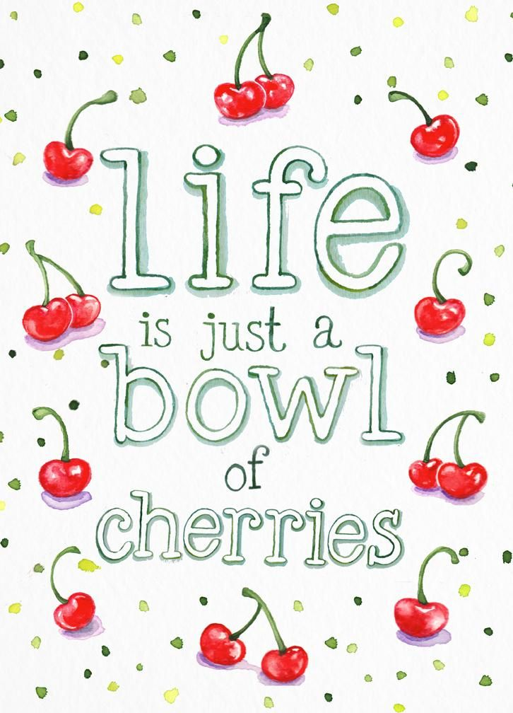 Bowl of Cherries - image 1 - student project
