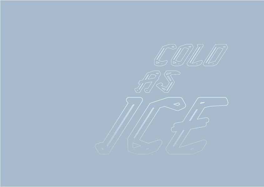 ICE TYPEFACE - image 10 - student project