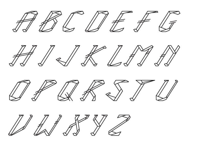 ICE TYPEFACE - image 7 - student project
