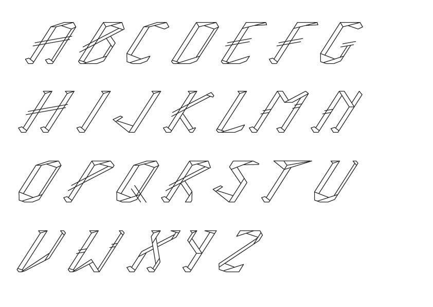 ICE TYPEFACE - image 6 - student project