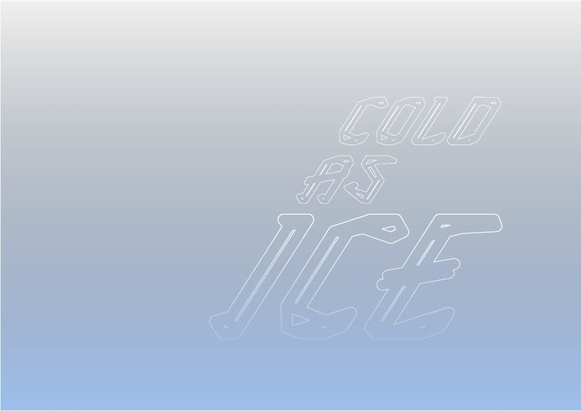 ICE TYPEFACE - image 11 - student project